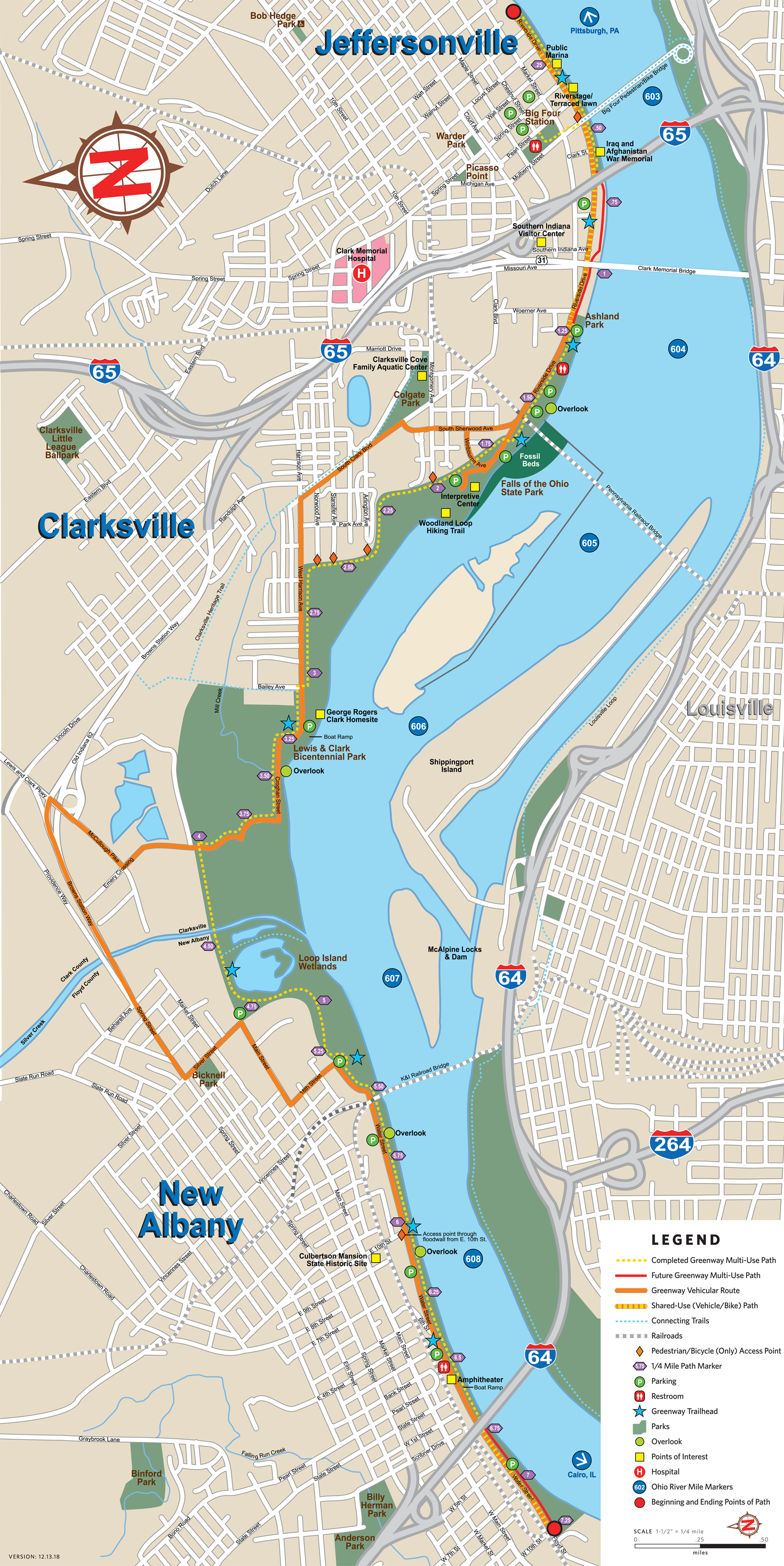 Project Map – Ohio River Greenway